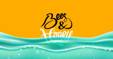 Bees & Honey leci w turkus